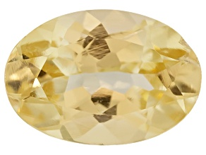 Canary Yellow Garnet Oval .50ct