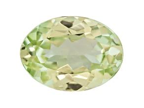Garnet Green Grossular Fluorescent 7x5mm Oval .70ct