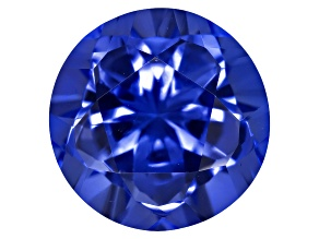 Tanzanite 9.18x9.15mm Round Custom Cut 3.36ct