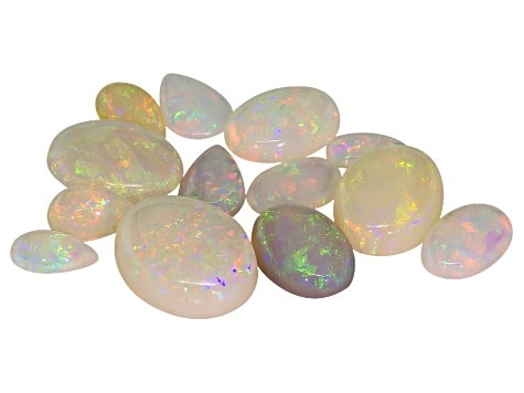 Crystal Opal Mixed Shape Cabochon Parcel 5.00ctw