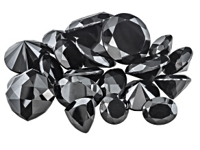 Black Spinel Mixed Shape Parcel 150.00ctw
