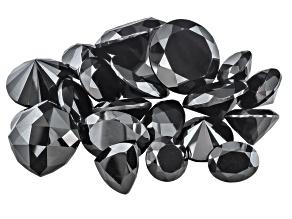 Black Spinel Mixed Shape Parcel 150.00ctw