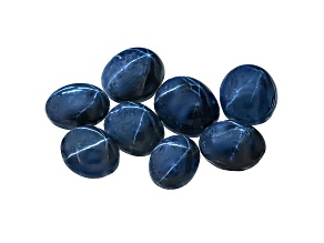 Sapphire Blue Star Mixed Oval Cabochon Parcel 50.00ctw