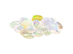 Ethiopian Opal Mixed Shape Parcel 10.00ctw