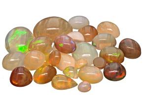 Opal Mixed Shape Cabochon Parcel 25.00ctw