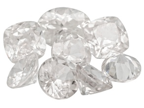 White Zircon Mixed Shape Parcel 10.00ctw