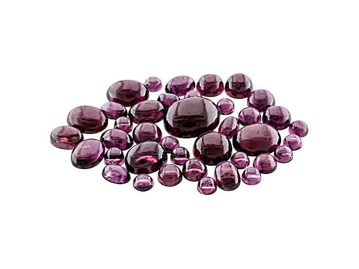 46-Carats Rhodolite Garnet Cabochon