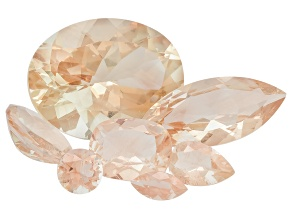 Peach Sunstone Aventurescence Mixed Shape Parcel 10.00ctw