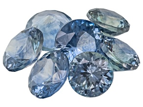 Sapphire Round Mixed Cut 2.00ctw Parcel