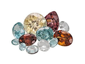 Multi-Color Zircon Mixed Shape Parcel 10.00ctw Minimum