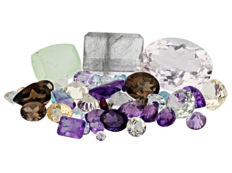 Mixed Faceted Gemstone Parcel 100ctw