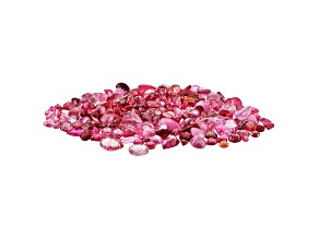 Pink and Red Spinel Parcel Mixed Shapes and Sizes 20.00ctw