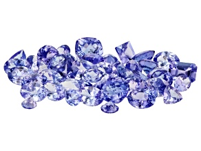 Tanzanite Parcel Mixed Shapes Sizes 29.89ctw