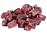 Red Spinel Parcel of Crystals Mixed Shapes and Sizes 20ctw