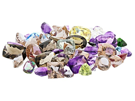 Natural and Synthetic Mixed Gemstone Parcel 200.00ctw