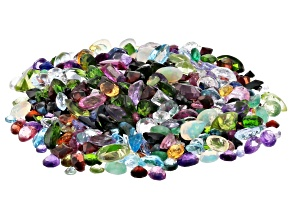 Natural and Synthetic Mixed Gemstone Parcel 100.00ctw