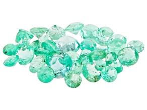 Emerald Round Parcel 3.00ctw