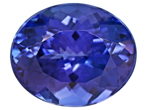 Signature Tanzanite Minimum 4.25ct 11x9mm Oval  Laser inscribed
