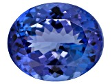 Tanzanite 12x10mm Oval 4.50ct