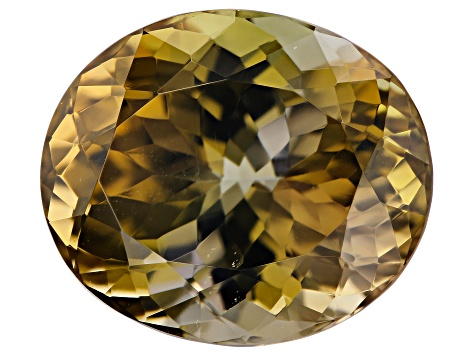 Golden Zoisite 10.12ct 14x12mm Oval