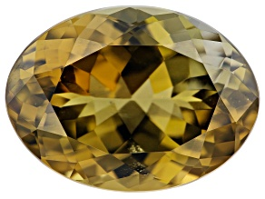 Golden Zoisite 8.72ct 15x11mm Oval