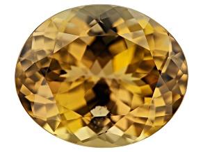 Orange Golden Zoisite 5.45ct 12x10mm Oval