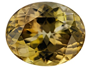 Golden Zoisite 4.23ct 11x9mm Oval