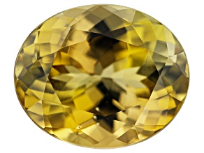Golden Zoisite 4.16ct 11x9mm Oval
