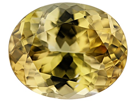 Golden Zoisite 3.88ct 11x9mm Oval