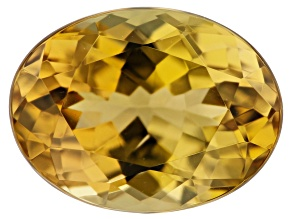 Golden Zoisite 1.33ct 8x6mm Oval