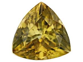 Golden Zoisite 1.95ct 9.2mm Trillion