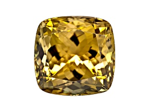 Golden Zoisite Untreated 12.5mm Square Cushion 11.65ct