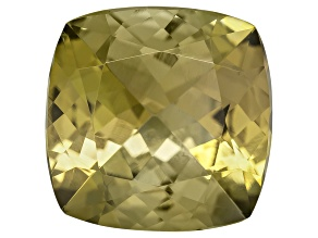 Golden Zoisite Untreated 9.5mm Square Cushion 3.75ct