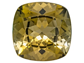 Golden Zoisite Untreated 12.5mm Square Cushion 7.80ct