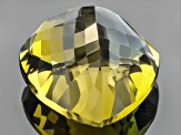 Golden Zoisite Untreated 16.09x15.97mm Trillion 19.40ct
