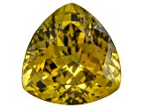 Golden Zoisite Untreated 11.5mm Trillion 6.73ct