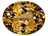 Golden Zoisite Untreated 17.47x13.87mm Oval 14.38ct