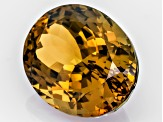 Golden Zoisite Untreated 19.17x14.74mm Oval 20.78ct