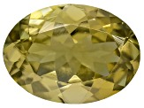 Golden Zoisite Untreated 7.5x5.5mm Oval .90ct