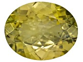 Golden Zoisite Untreated 10x8mm Oval 2.00ct