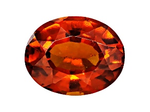 Garnet Hessonite 10x8mm Oval Mixed Step Cut 3.00ct