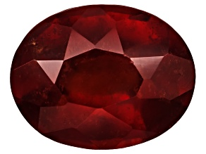 Garnet Hessonite 9x7mm Oval Stellata Cut 2.00ct