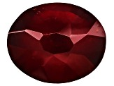 Garnet Hessonite 11x9mm Oval Stellata Cut 4.25ct