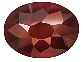 Garnet Hessonite 16x12mm Oval Stellata Cut 12.50ct
