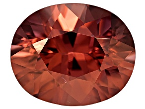Pink Zircon 11x9mm Oval 5.00ct