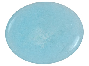 Hemimorphite 9x7mm Oval Cabochon 2.25ct