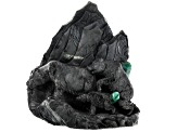 Emerald Bear Carving