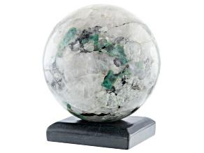 Emerald In Host Rock 12.75 Inch Polished Sphere