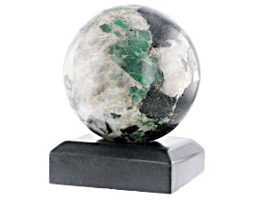 Emerald In Host Rock 11 Inch Polished Sphere