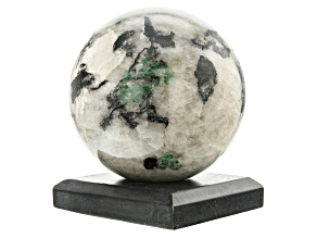 Emerald In Host Rock 13.75 Inch Polished Sphere